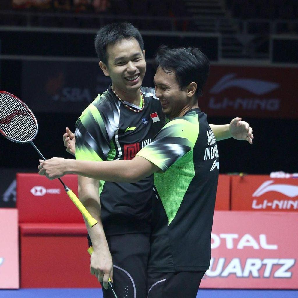 Singapura Open: Hendra/Ahsan Juara, Tontowi/Liliyana Runner-up