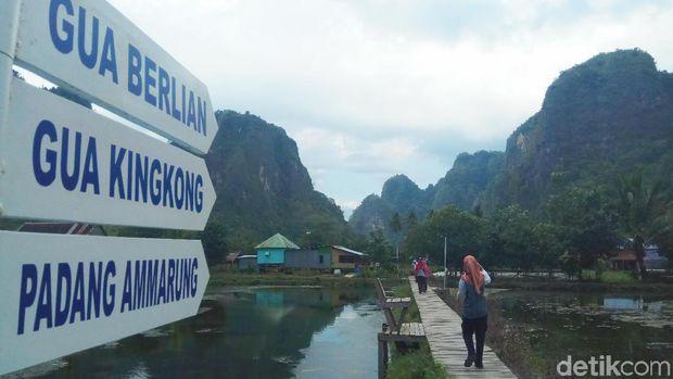 Hutan Batu di Indonesia Ini Sama Eloknya dengan yang di China