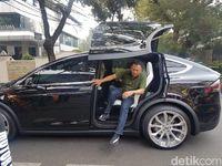 Tesla Model X Bamsoet.