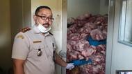 Ditutupi Pisang, 4,6 Ton Daging Celeng Diamankan di Merak