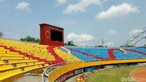 Kursi Made in Jerman di Stadion Jakabaring Harganya Rp 580.000/Unit