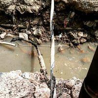 Tiang Listrik Terkeruk Backhoe, Kabel PLN Terbakar di Melawai