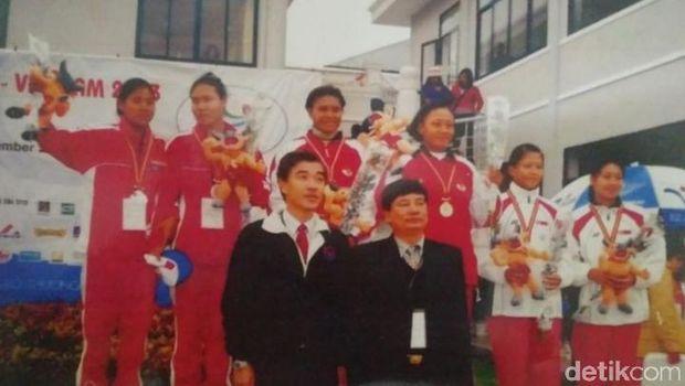 Cerita Mantan Atlet Dayung Sambut Obor Asian Games di Makassar