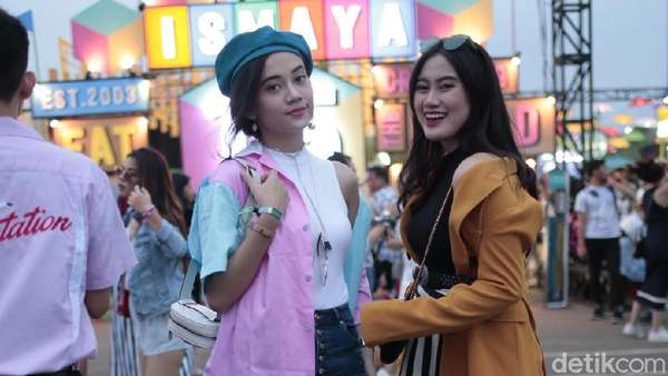 Gaya Seru dan Stylish Penonton We The Fest 2018