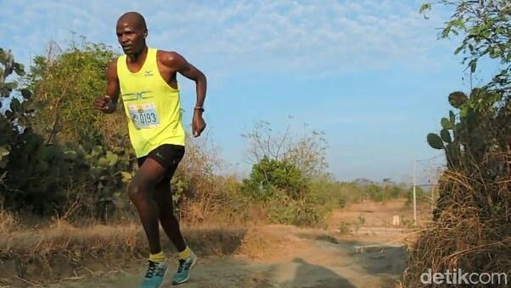 Pelari Asal Kenya Kuasai Podium Situbondo International Trail Hill Run 2018