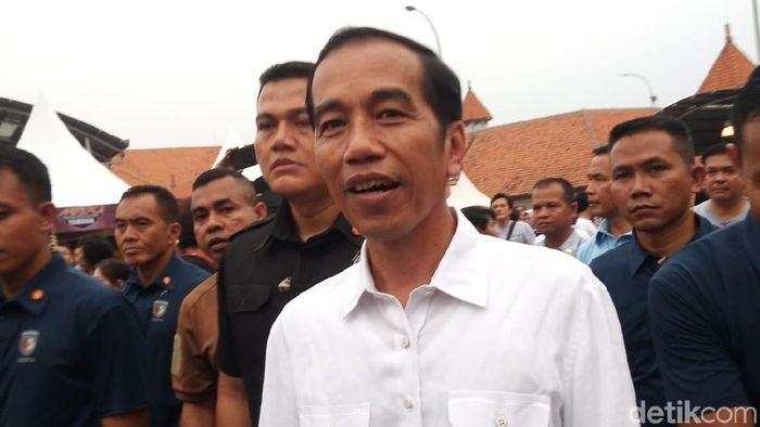 Foto: Presiden Jokowi (Matius Alfons/detikcom)