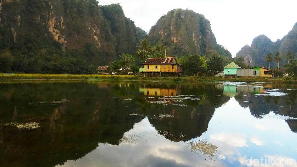 Foto: Karst Rammang-rammang yang Semakin Hits