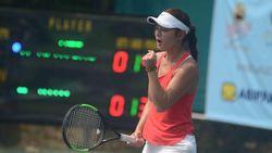 Petenis Belanda Arianne Hartono Juara Pelti-Widya Chandra International