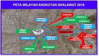 Zona dan Hal yang Perlu Diketahui Jemaah Haji Soal Bus Sholawat