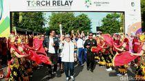 Banyuwangi Sambut Kirab Obor Asian Games 2018 dengan Atraksi Seni