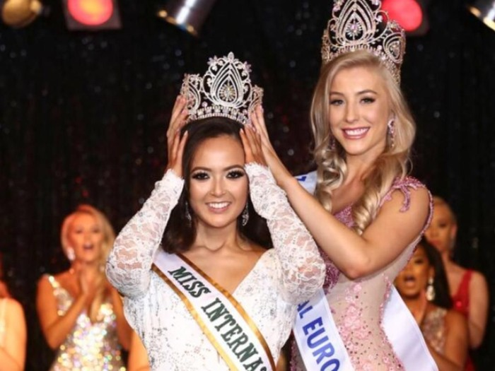 Sharon Gaffka, pemenang miss international UK 2018