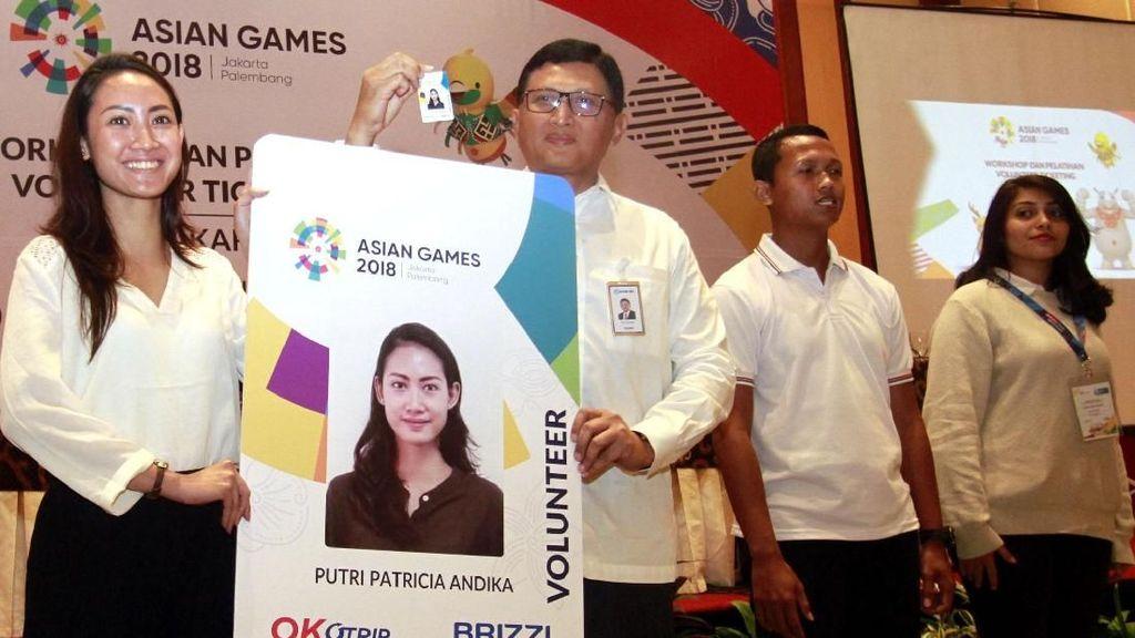 Kartu BRIZZI untuk Volunteer Asian Games