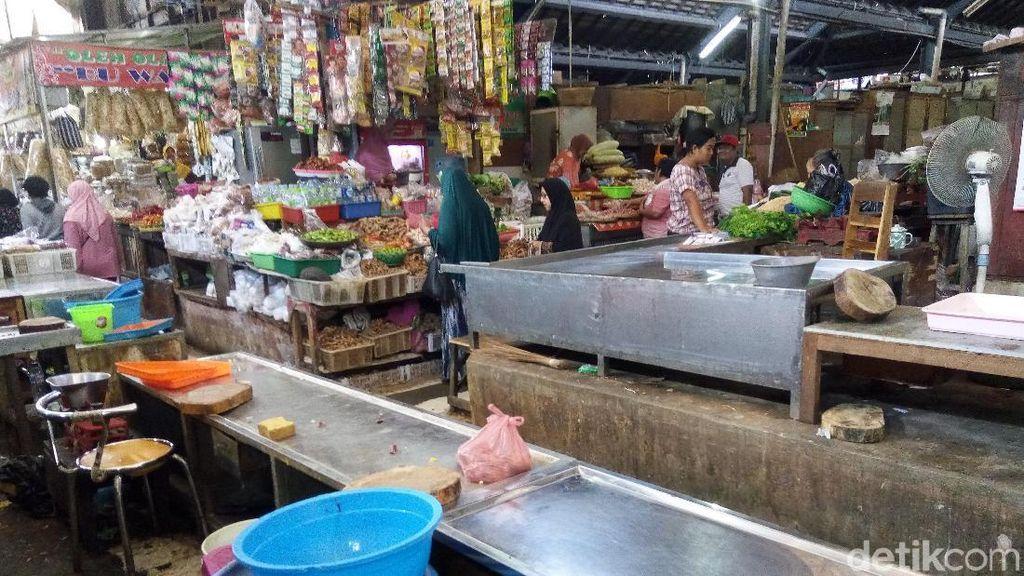 Pasokan dari Peternak Seret, Pedagang Ayam di Solo Libur Jualan