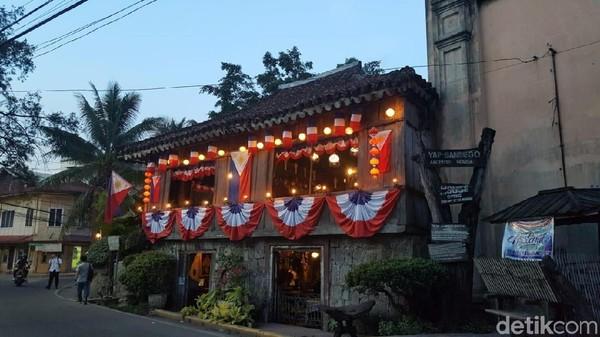 Ini adalah salah satu rumah tertua di Filipina. Namanya Yap Sandiego Ancestral House (Syanti/detikTravel)