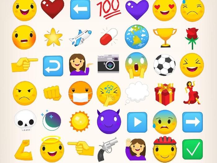 11 Arti Emoticon WhatsApp yang Sering Disalahgunakan Foto: Thinkstock