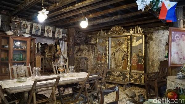 Rumah ini dibangun pada abad 17 oleh pasangan suami istri Don Juan Yap dan Dona Maria Florido yang ditempati bersama anak-anaknya Maria, Eleuterio, dan Sonsolacion (Syanti/detikTravel)