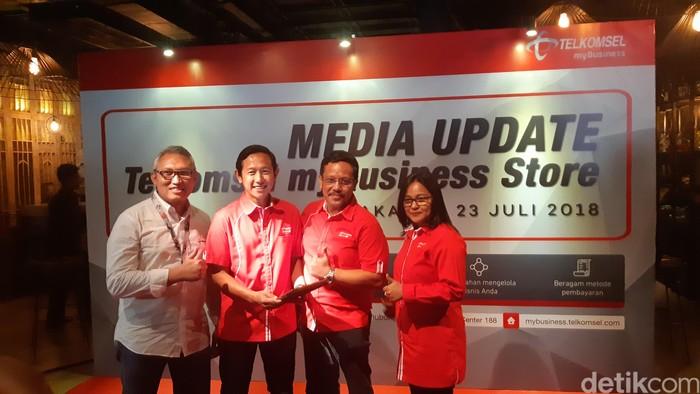 Solusi digital myBusiness Store. Foto: detikINET/Virgina Maulita Putri