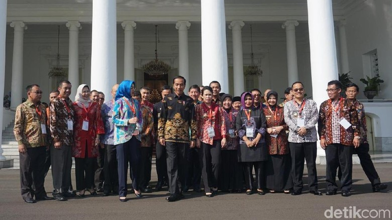 Jokowi Kumpulkan Wali Kota Seluruh Indonesia, Airin Hadir