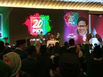 Jokowi-Cak Imin Cipika-cipiki di Harlah ke-20 PKB