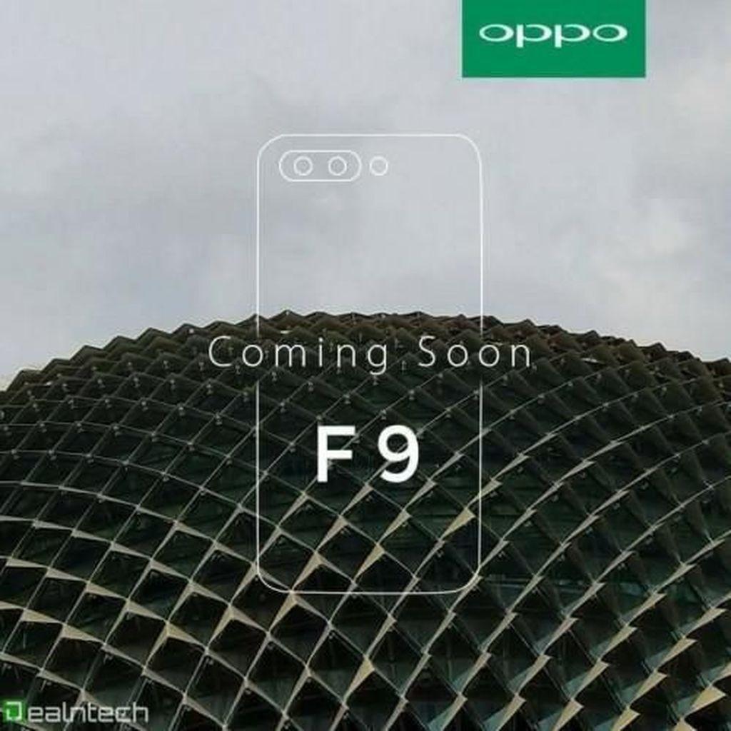 Dapat Sertifikasi Bluetooth, Oppo F9 dan F9 Pro Segera Dirilis