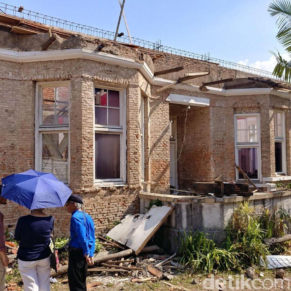 Dibongkar Pemilik, Rumah Kembar Sukarno Tersisa 50 Persen