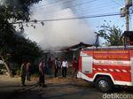 Pabrik Mebel di Kartasura, Sukoharjo Ludes Terbakar