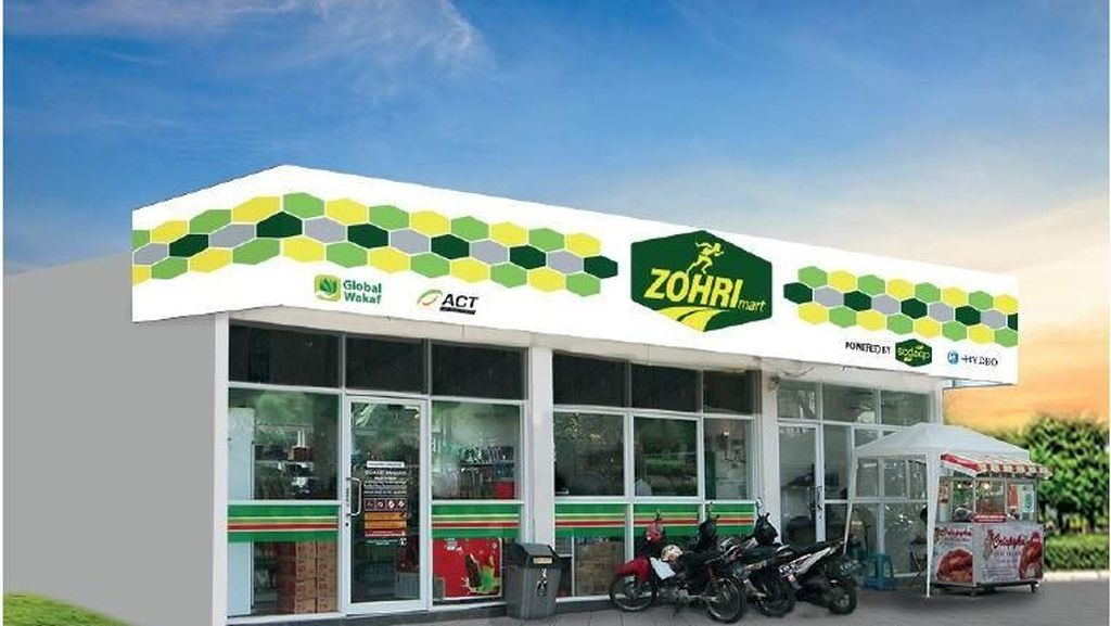 Minimarket untuk Zohri Diberi Nama Zohrimart