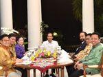 Makanan Khas Sunda, Sajian Dinner Jokowi dan Ketum Parpol Koalisi