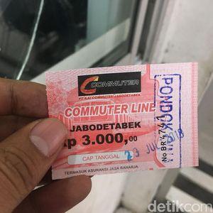 Begini Perubahan Tiket KRL dari Masa ke Masa