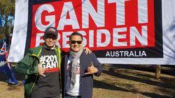 Mardani Hadiri Deklarasi Relawan #2019GantiPresiden di Australia