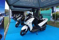 Yamaha Lexi di event MAXI Yamaha Day area Candi Borobudur