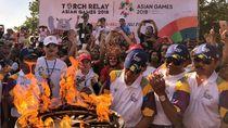 Ada Torch Relay Asian Games, Operasional TransJakarta Tetap Normal