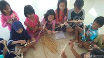 Hari Anak di Jepara: Origami, Wayang Rotan Hingga Bahasa Asing