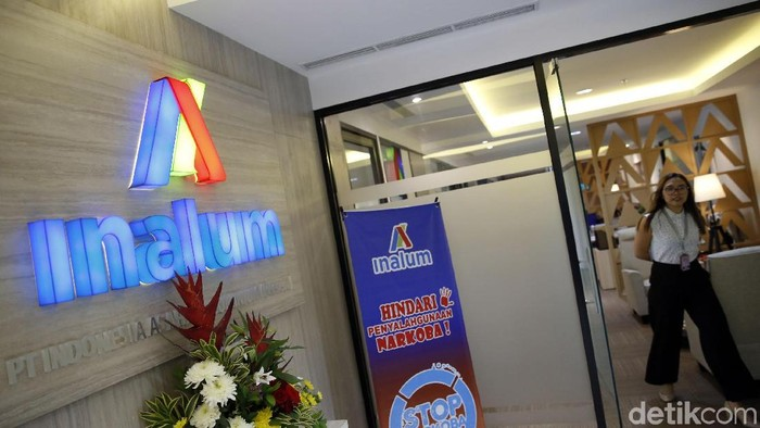 Logo dan Illustrasi INALUM, Indonesia Asahan Alumunium