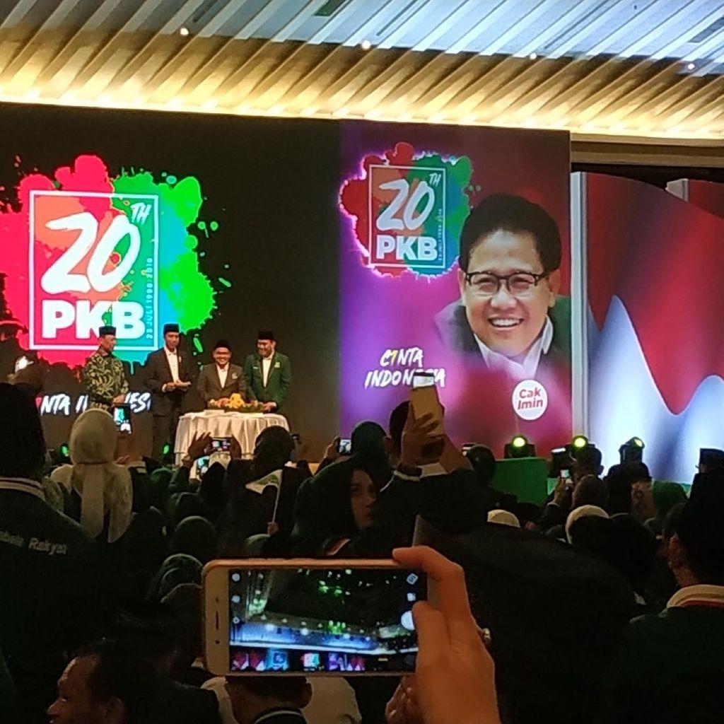 Kode Jokowi ke Cak Imin di Harlah PKB