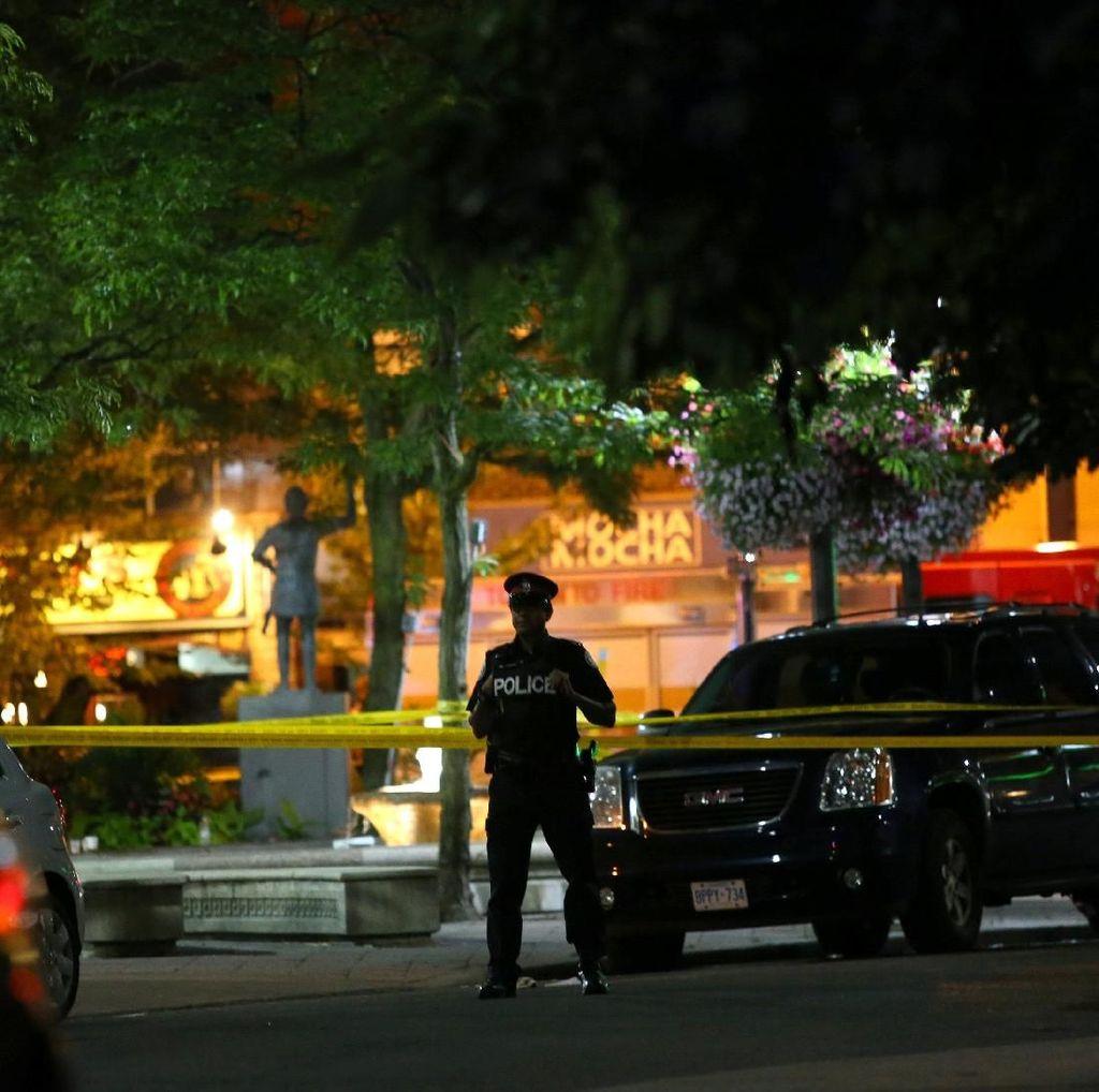 9 Orang Termasuk 1 Anak Ditembak di Toronto, Pelaku Tewas