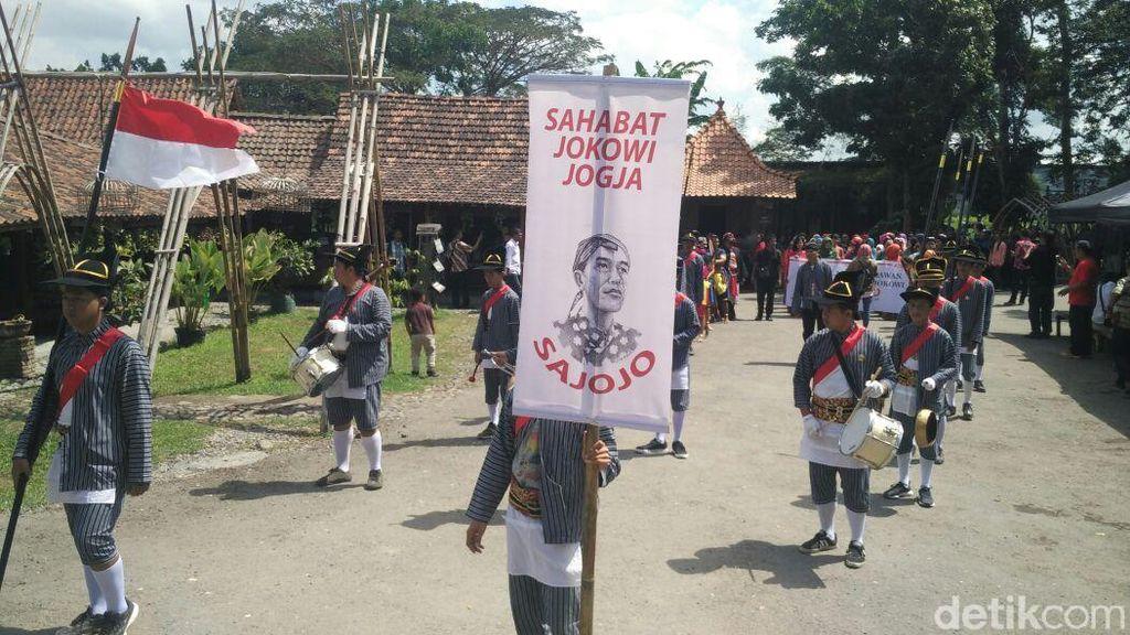 Ada Sajojo yang Deklarasikan Siap Menangkan Jokowi di Yogya