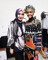 Cerita Dian Pelangi Buat Model Hijab Halima Aden Terpukau karena Ciput