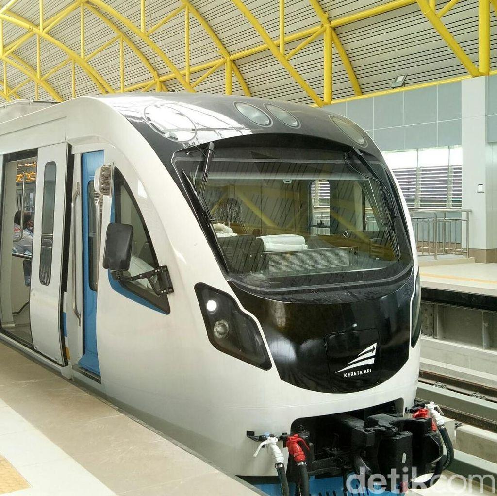 Kemenhub: LRT Palembang Pakai Teknologi Terkini