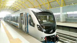 LRT Palembang Mulai Beroperasi Hari Ini