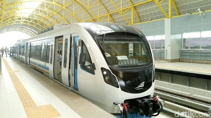 LRT Palembang Mulai Beroperasi Hari Ini/Foto: Raja Adil Siregar