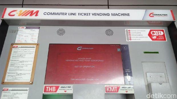 Pemberitahuan vending machine tak dapat dipakai
