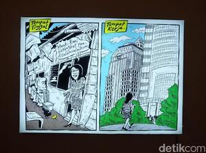 Kartun Ironi Karya Mice Ini Nyentil Kehidupan Karyawati Jakarta