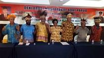 Deklarasi Tokoh Papua Dukung Jokowi-Moeldoko