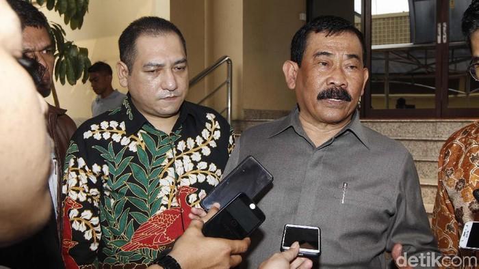 Eks Komandan Jenderal (Danjen) Kopassus Mayjen (Purn) TNI Soenarko (Rengga Sancaya/detikcom)