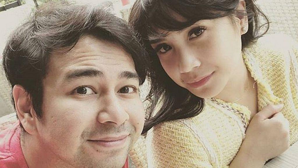 Raffi Ahmad Ciuman dengan Marsha Aruan di Film, Apa Komentar Nagita Slavina?