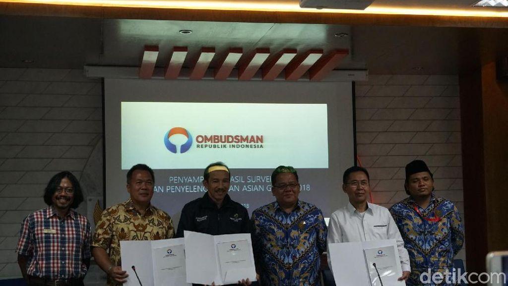 12 Poin Temuan Ombudsman soal Kesiapan Asian Games 2018
