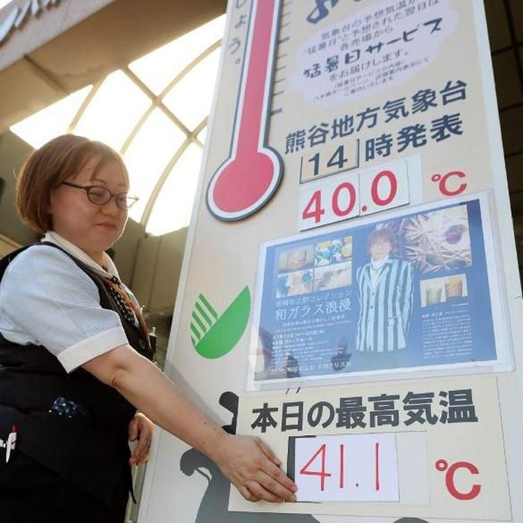 Rekor! Suhu Udara di Jepang Capai 41,1 Derajat Celsius