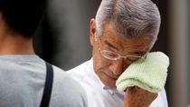 Panasnya! Suhu Udara di Jepang Capai 41,1 Derajat Celsius