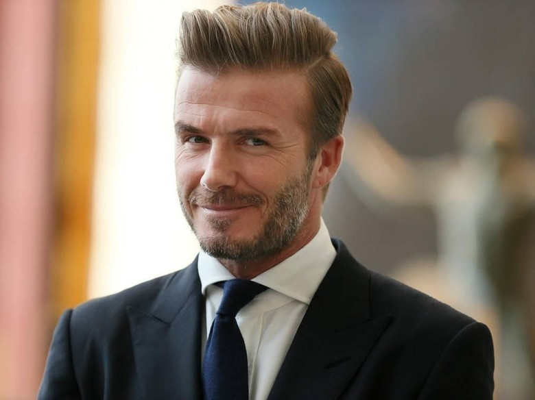David Beckham Foto: Istimewa